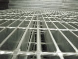 Hot DIP Galvanized Standard Black Grating Panel-Serrated Grating Mesh 30X100