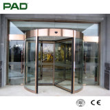 3-Wing Fashion and Generous Automatic Revolving Door for Commercial Building