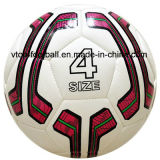 White Color High Quality Machine Stitched Football for Match