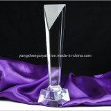 2018 China Factory Custom Crystal Metal Trophy