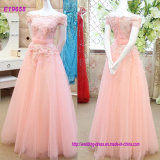 Cheap 4 Colors Evening Dress A Line Tulle Prom Dress
