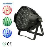 Guangzhou 54X3w Indoor LED PAR Can Light Price DMX-512 RGB