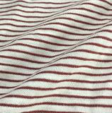 Cotton Jersey Price 100% Cotton Stripe Single Jersey Knitted Fabric