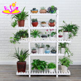 Most Popular Natural Wood 5-Layer Plant Display Stand W08h111b