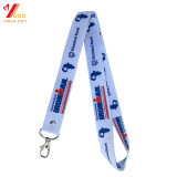 Wholesales Customized Printing Polyester/Nylon/Sublimation/Woven Lanyard with Attached Carabiner Hook for Card/Key Accessory/Giveaway/Promotion Gift