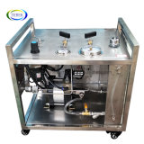 Portable Ultra High Pressure Pneumatic Booster Piston Pump with Round Chart Recorder