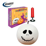 New Halloween Toys 9 Inch Plush Inflatable Ghost Ball Toy