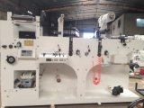 One Color Printing Machine with 2 Rotary Die Cutting
