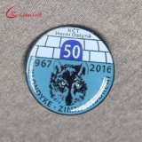 Custom Rond Shaped Enamel Animal Lapel Pins for Promotion Gift