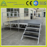 Outdoor Flexible Portable Aluminum Wedding Plywood Stage