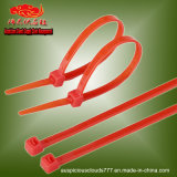 7.2X200mm Red Self-Locking Nylon Cable Ties