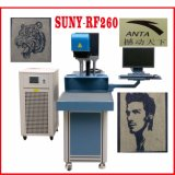 CO2 Radio Frequency Laser Marking Machine for Denim and Fabric and Nonmetals