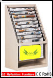 Cheap Newspaper Shelves in Library