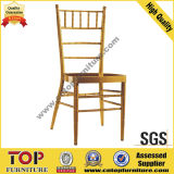 Hotel Metal Stacking Wedding Banquet Chiavari Chair