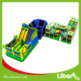 Amazing Indoor Playground with Inflatable and Trampoline Park