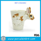 Cute Rabbit Porcelain Mug Cup