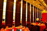 2017 Hotel Ballroom Banquet Hall Wooden Operable Partition Wall