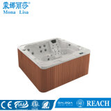 Square 6 People Acrylic Outdoor Hydro Massage SPA Hot Tub (M-3310)