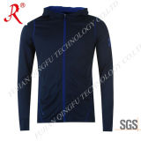 Men′ S Hoodie with Full Front Zip Fastening (QF-S577)