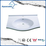 High Quality White Artificial  Marble  Sink Tops Acb7455