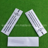 White Fabric Anti Theft Garments 58kHz Security Garment Label