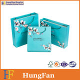 Colorful China Style Packaging Shopping Paper Bag