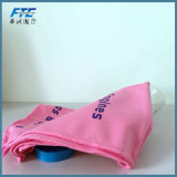 Bamboo Fiberor Polyester Cooling Towel with OPP Bottle Packing