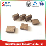 Wet Cutting Granite Blade Segment Quartz Sandstone