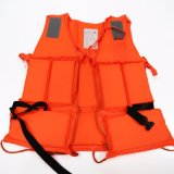 Factory Cheap EPE Foam Work Life Jacket with Oxford Fabric