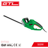 Portable Garden Tool 500W Electric Hedge Trimmer with 510mm Blade Length