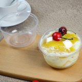 Manufacture Good Quality Plastic Fruit Cake Bowl