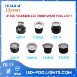 High Power 12W/36W 12V Warm White/ RGB 316 Stainless Steel LED Pool Light LED Underwater Light