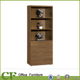 Melamine High Office Wooden Open Books Shelf with 3 Drawers