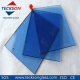 4-6mm Deep Blue/Dark Blue Tinted Float Glass for Windows & Door Glass
