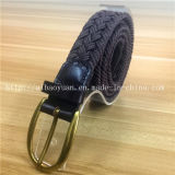 Cotton Thread Overwax Woven Without Hole Needle Buckle Belt