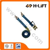 Ratchet Tie Down Strap with Hook & Keeper LC2500kg