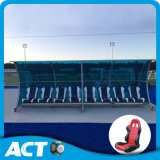 VIP Portable Player Dugout Bench with Shelter for Team Sports