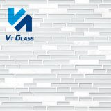 New Design Product for Manufacturersglass Linear Mosaic Tiles for Kitchen