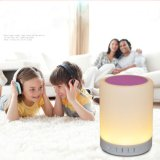 Smart RGB Light Portable Bluetooth Speaker LED Table Lamp with APP