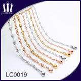 Wholesale Bulk Stainless Steel Wave Jewelry Chain