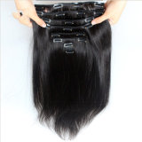 Cheap 100% Natural Brazilian/Peruvian Virgin Remy Clip in Human Hair Extension