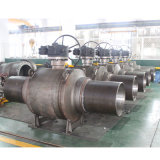 Fully Welded Carbon Steel Industrial with Transition Piped Ball Valve