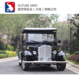 Low Speed 8 Seats Pure Electric Vintage Car for Golf Yard or Community