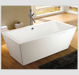 Square Sharp Narrow Rim Cheapest Bathtub