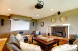 """16: 9 100"""" Home Theater Projector Screen Manual Projection Screen"""