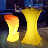 LED Light up Cocktail Table for Eventa