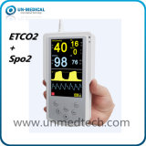 Handheld Sidestream/Mainstream Etco2 Monitor with SpO2