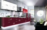Kitchen Cabinets High Gloss Furniture for Wholesale (ZH-9633)