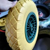 4.00-8 Elastic PU Foam Wheel Manufacturer