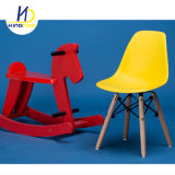 Modern Cheap Replica Eames Plastic with Wood Legs Kids Dining Chair